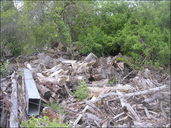 Yard Wood Debris - Oak Creek Wisconsin