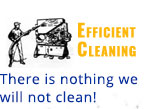 Efficient Cleaning in Milwaukee - There is Nothing We Will Not Clean